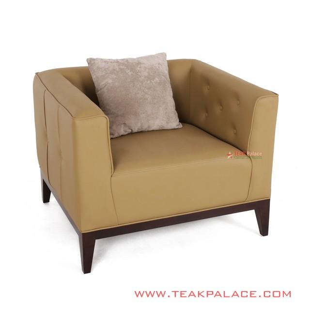 Sofa Oscar Brown Armchair Bekasi Series