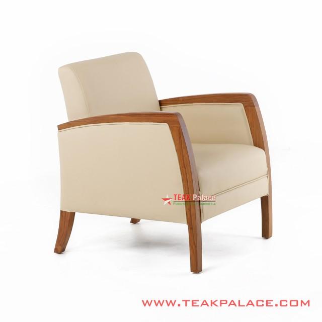 Single Sofa Chair Kuta Series Oscar Cream