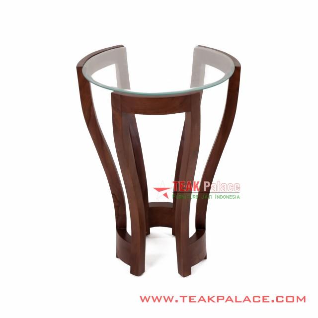 Euro Series Minimalist Corner Table