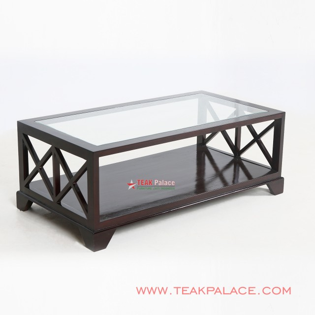 Coffee Table Teak  Black Walnut Malang