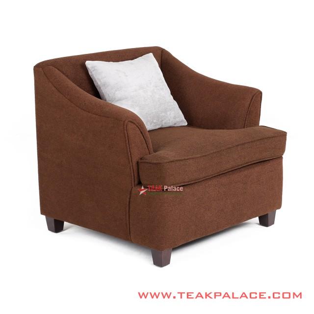Sofa Musi Singgle seat Warna Coklat