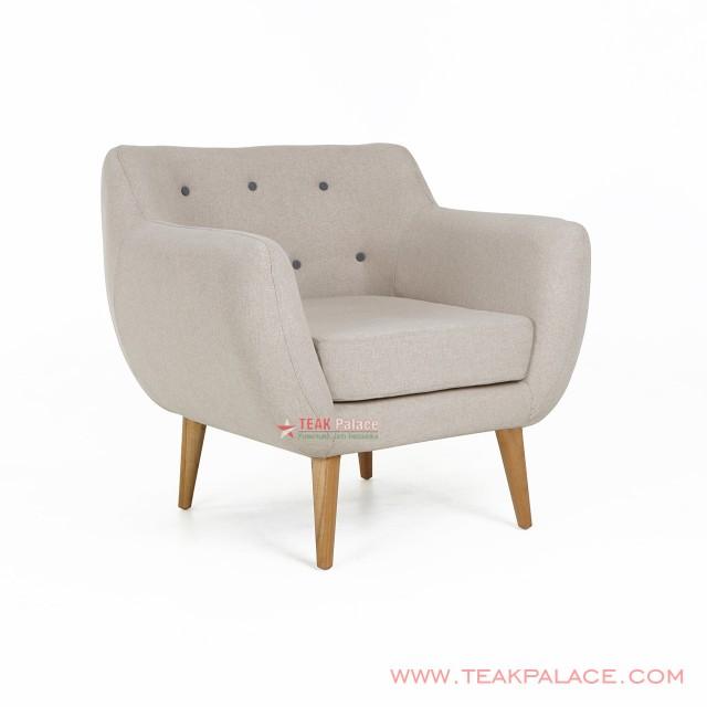 Sofa Retro Dina Single Linen