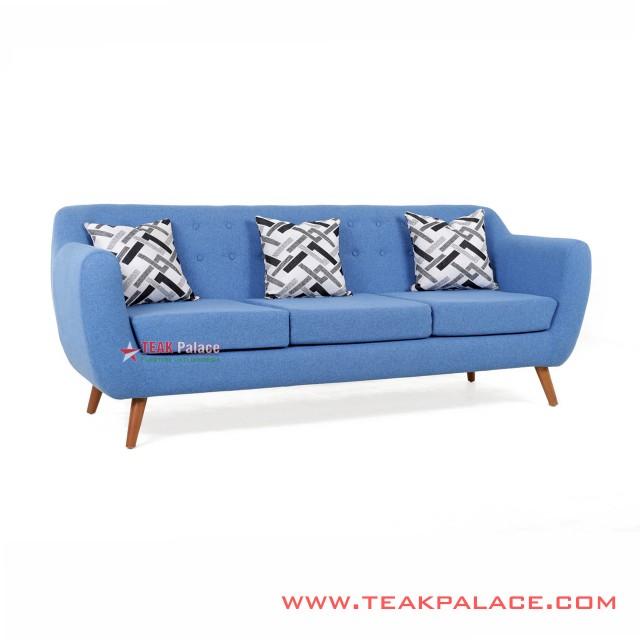 Sofa Dina Blue 3 Seater