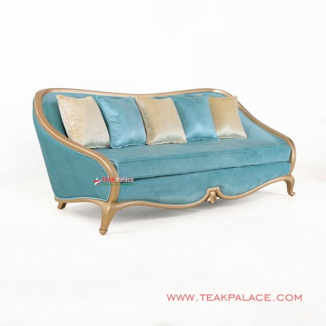 Kursi Tamu Sofa Minimalis 3 Dudukan Cameo Aqua