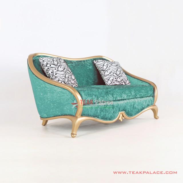 Kursi Tamu Sofa Minimalis 2 Dudukan Cameo Toska